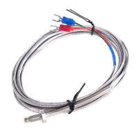WRNT-02 Elemento Termo Tipo K 0…600 ﹾ C M6 Cable 3M Sensor de Temperatura