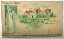 1907 POSTCARD THE HOME OF SHREDDED WHEAT NIAGARA FALLS NEW YORK #zq2