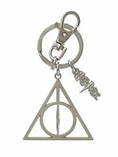 Harry Potter Deathly Hallows Pewter Key Ring keychain