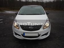 Vauxhall Opel Corsa D 04-11 Front bumper lip spoiler OPC look addon splitter