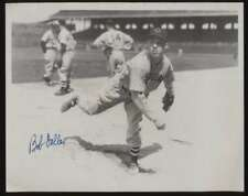 Black and White 8 x 10 Bob Feller Autographed Authentic 47198