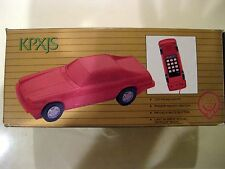 Vintage Retro Car Shaped PHONE-TELEMANIA with Instruction manual