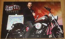 2015 RawTin Garage Captain America Harley-Davidson Salt Lake Comic Con info card
