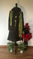 FINAL REDUCTION.  COAT BY BOHEMIA OF SWEDEN BOHEMIAN,, LAGENLOOK RRP £245. SZ S