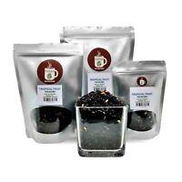Tropical Hawaiian Fruit Blend Loose Tea contains CAFFEINE served ICED or HOT