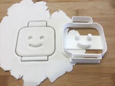 Lego Man Head Cookie Cutter Biscuit, Pastry, Fondant Cutter