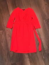 H&m Red Summer Dress Size 8