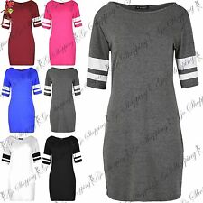 Short Sleeve Stretch, Bodycon Striped Dresses for Women