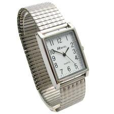 Mens Ravel Super-Clear Square Quartz Watch with Expanding Bracelet 50 R0220.02.1
