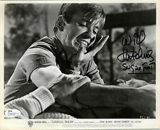 WILL SUGAR FOOT HUTCHINS SIGNED 8X10 1961 FILM CLUDELLE INGLISH JSA COA #N44359