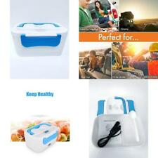 Portable Microwave Stove Oven Lunch Box For Pre-Cooked Meals 12V Car Plug In NIB