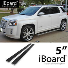 "5"" iBoard Nerf Bars Fit Chevy/GMC Equinox/Terrain 10-17"