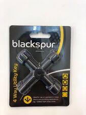 Blackspur 4 Way Utility Key Handy Useful Key All In One Tool