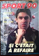 Sport Magazine du 5/01/1989; Claude Criquielion/ Paris-Dakar/ JP. Spaute