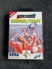 Jeu Sega Master System Champions Of Europe Excellent état