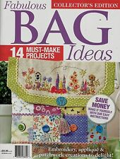 FABULOUS BAGS IDEAS  MAGAZINE 2016  PATTERN SHEET ATTACHED