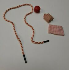 Vintage Baribe Skipper Doll Htf Yoyo Jump Rope Skirts To Mini Barbie Doll #1913