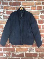 $495 Denim & Supply Ralph Lauren L Quilted Navy Bomber Outdoor Puffer Jacket