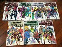 Official Handbook of the Marvel Universe Update '89 #2-8 *SEVEN ISSUE LOT* Venom