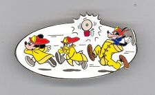 Disney Auctions Fire Fighters Fireman Mickey Mouse Donald Goofy Jumbo LE 100 Pin