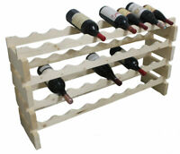 Freestanding Wine Rack Stackable Storage for Magnum Size Bottles