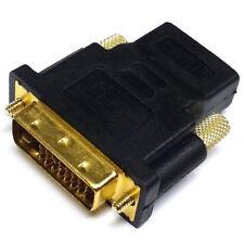 1080p Adapter Vergoldete Steckkontakte DVI-D Stecker auf HDMI Weiblich Supplies