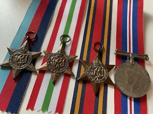 Original World War Two Medal Grouping, Unnamed As Issued