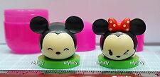Disney Tsum Tsum Choco Egg Mini Figure #1&2  Mickey Minnie  2 pc only- Furuta