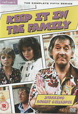 KEEP IT IN THE FAMILY Season 5 * NEW & SEALED * Region 2 - Robert Gillespie