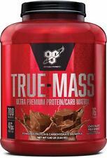 Bsn True-Mass Weight Gainer, Muscle Mass Gainer Protein Powder, Chocolate Milksh