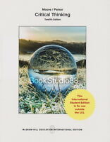 NEW 3 Days to US Critical Thinking 12E Richard Parker Brooke Moore 12th Edition