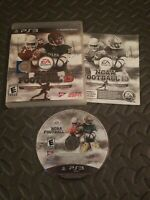 NCAA Football 13 Complete for PS3 (Sony PlayStation 3, 2012)