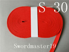 5 M Top Grade Red Synthetic Silk Ito Sageo for Japanese Katana Wakizashi Tanto