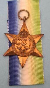 100% Original WW2 Atlantic Star Medal