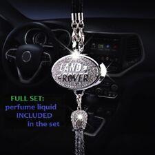 Land Rover Emblem Car Rhinestone Diamond Logo Perfume Air Freshener Gift