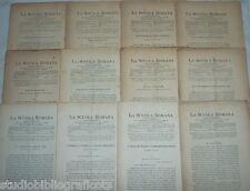 Cugnoni Castagnola LA SCUOLA ROMANA Foglio Periodico di Letteratura e Arte 1885