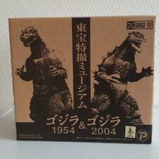 X-PLUS Toho Special Effects Museum Godzilla 1954 & 2004 2set Soft vinyl Figure