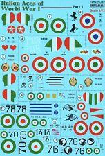 SCALA di stampa 1/72 ITALIAN ACES OF WWI parte 1 NIEUPORT # 72267