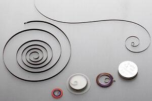eine AUFZUGFEDER für Armbanduhr /TU und Wecker: AUSWAHL aus mehr als 1000 Größen