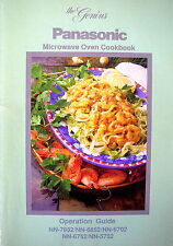 PANASONIC MICROWAVE OVEN COOKBOOK - Operation Guide 1992 - Great Results