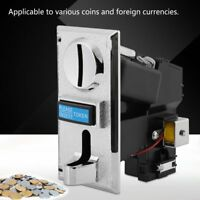 Multi Coin Acceptor Selector Slot for Arcade Game Mechanism Vending Machine