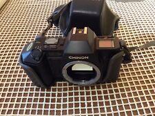 CHINON CP-7m fotocamera 35 mm con custodia