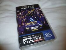 the final round of the World Rally Championship 95 VHS VIDEO TAPE *724