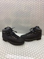 Timberland Euro Hiker Black Leather Lace Up Hiker/Trail Boots Men's Size 8.5 M