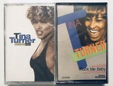 2x Tina Turner Lot 80s Pop Rock NEW Simply the Best + Rock Me Baby FREE SHIP