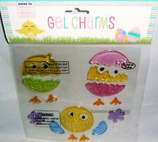Easter Gel Window Stick -Ons HATCHING CHICKS