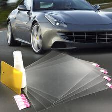 4pcs Car Anti Fog Nano Coating Rainproof Rear View Mirror Window Protective Film