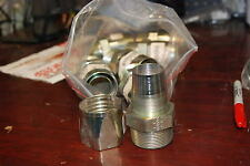 "Parker, 412-22-24S, 1 1/2"" reusable Fitting, , Lot of 7 New no Box"