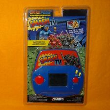 VINTAGE 1991 ACCLAIM SMASH T.V. HANDHELD LCD VIDEO GAME OPEN CARDED RETRO