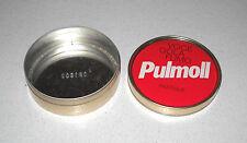Scatola di latta pastiglie PULMOLL - OTTIMO Milupa Voce gola fumo